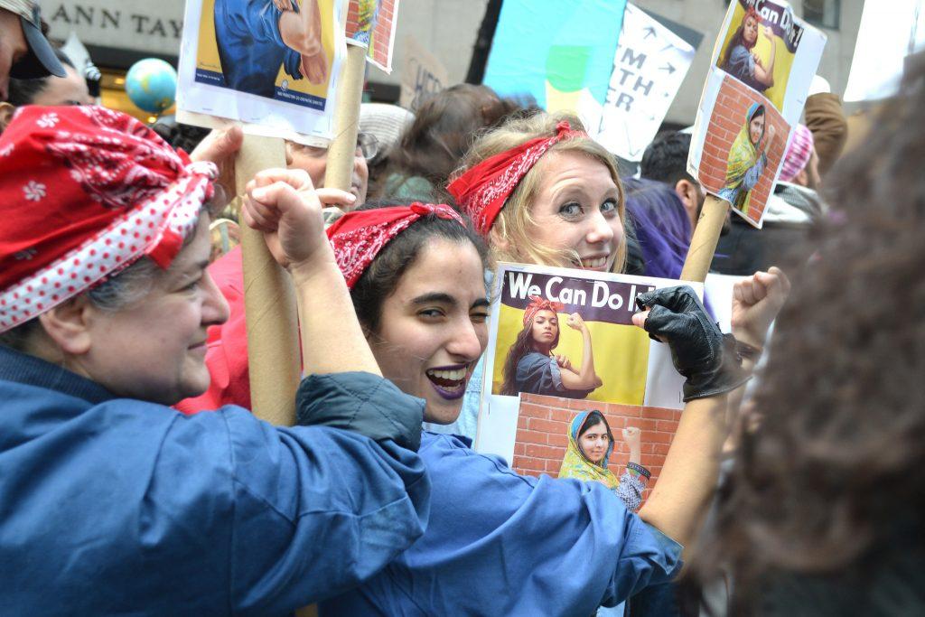 Протестът е не просто срещу насилието, а за по-равни позиции за жените