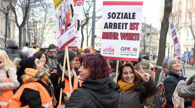 Медицински работнички от Германия и Швеция за условията на труд и 8 март
