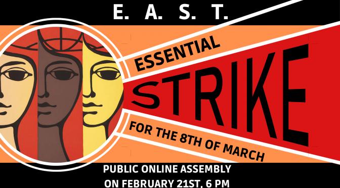 Манифест за жизнена стачка 8 март
