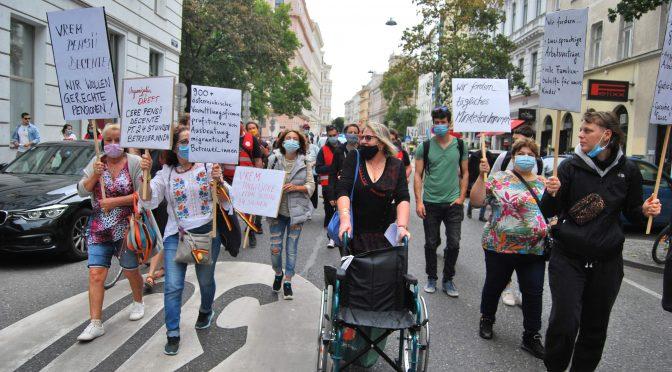 (Пост)пандемични борби в социалното възпроизводство: Мобилизации на румънските грижовни работнички в Австрия